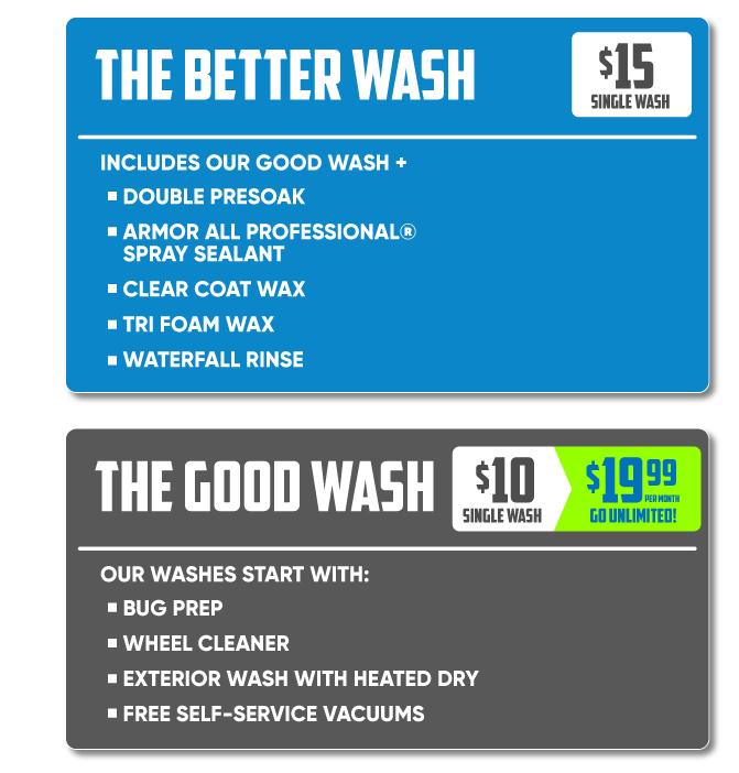 Good Wash Better Wash