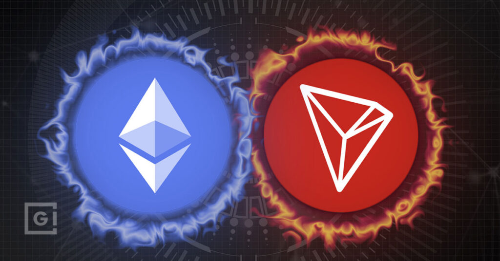 Ethereum versus TRON, is ETH dead?