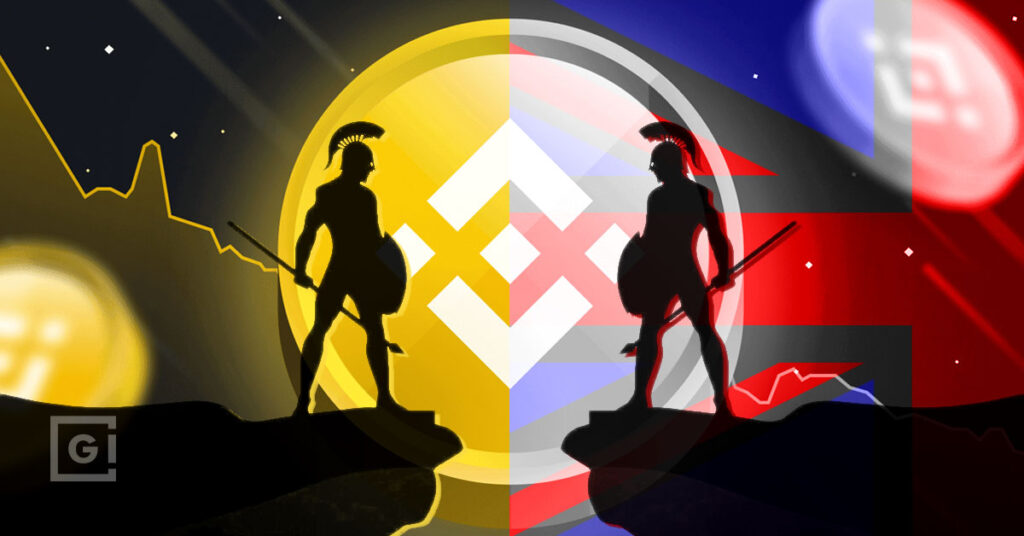 War on Crypto, tensions building with Britain and Binance