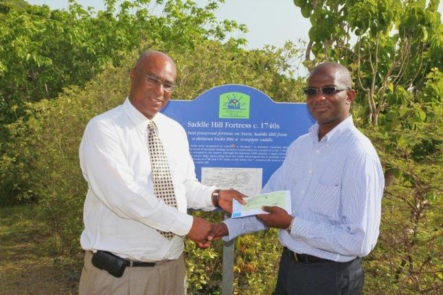 NEVIS ISLAND ADMINISTRATION RECEIVES GRANT FUNDING FROM SIDF