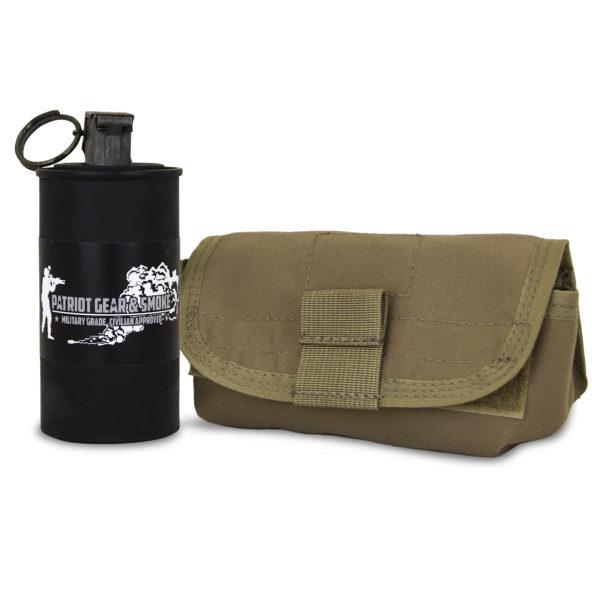 Horizontal Smoke Grenade Pouch