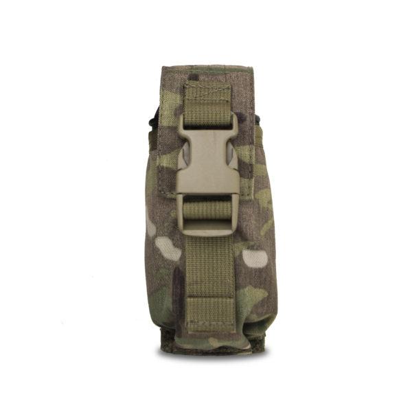 Vertical Smoke Grenade Pouch Camo