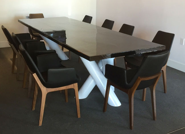 modern conference table custom made