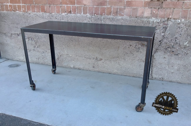 hot rolled steel desk