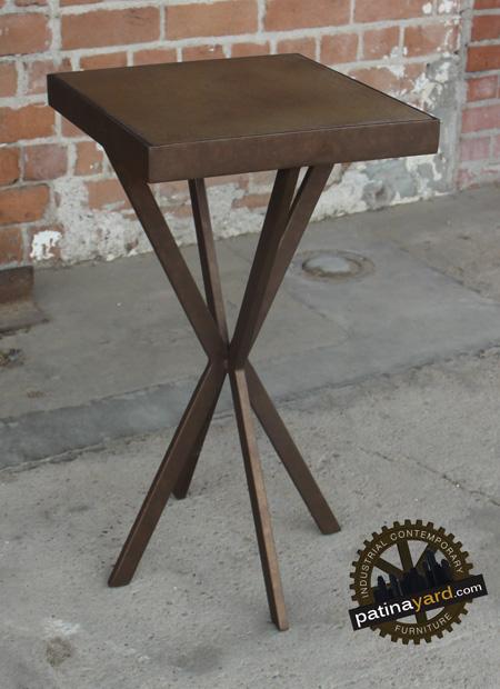 custom pedestal table