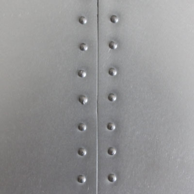 Zinc Samples with Rivets