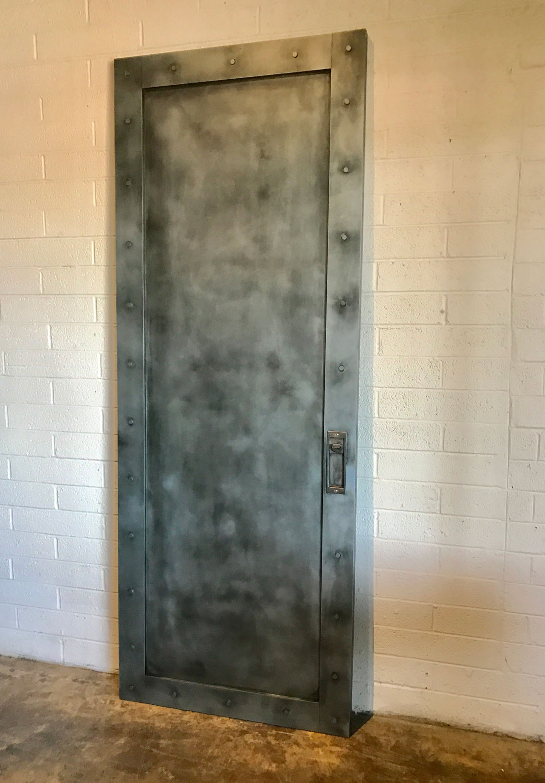 industrial style Zinc pocket door