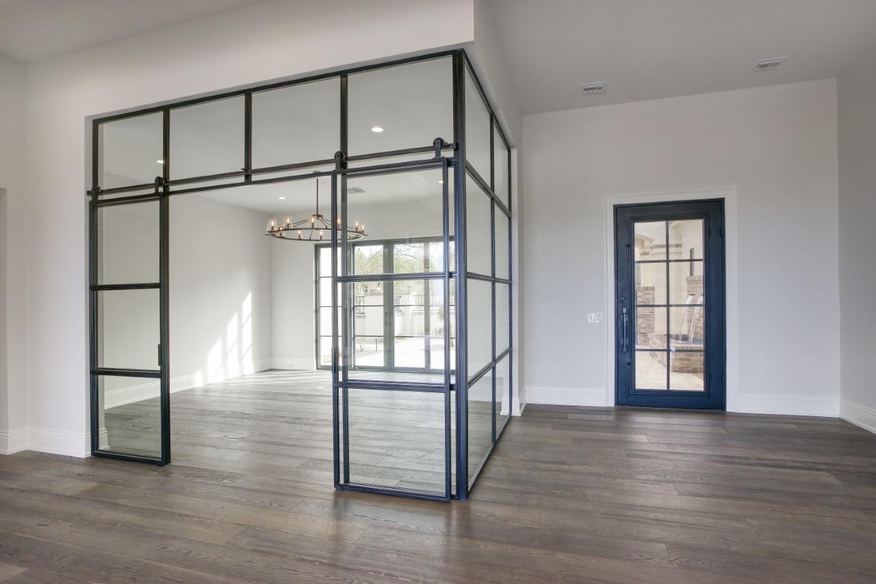 corner metal and glass windows and doors
