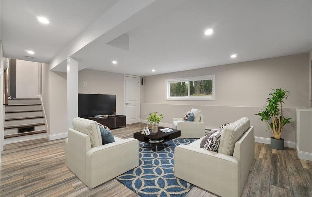 17 Basement w furniture