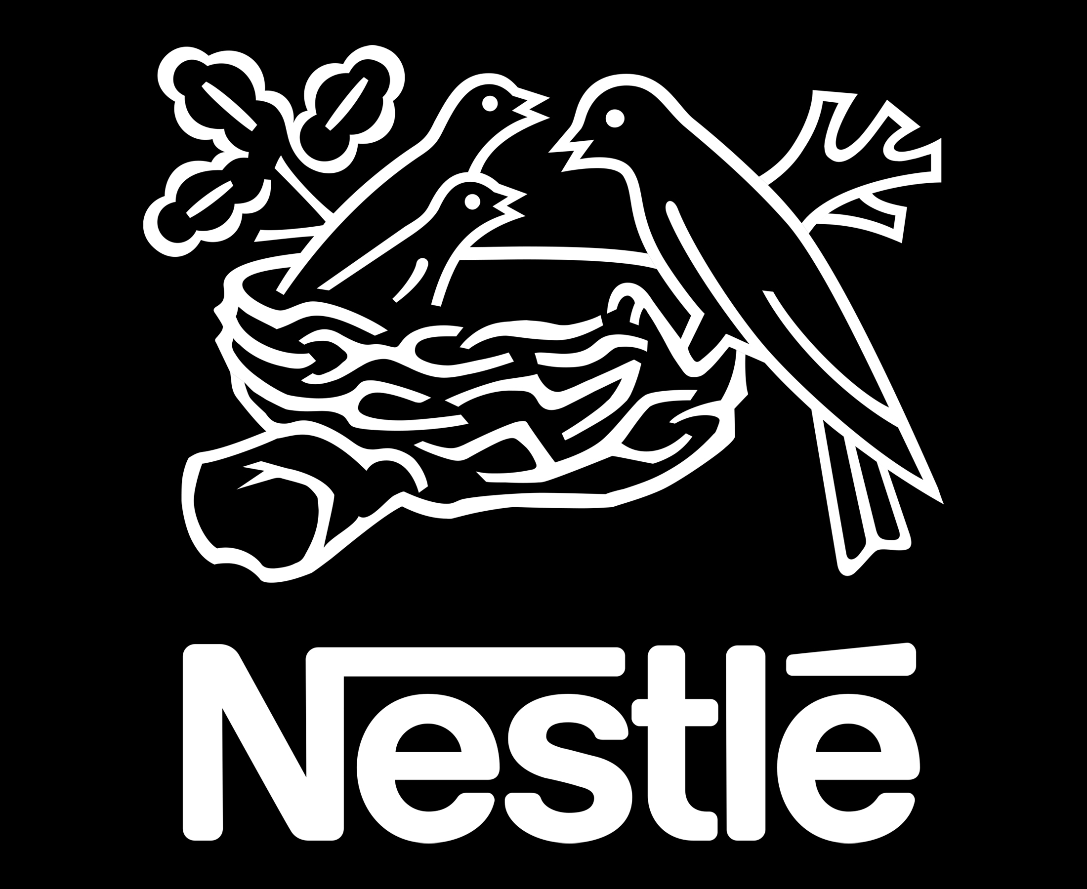 Nestlé Logo: Good food, Good life   Nestlé Global Logo