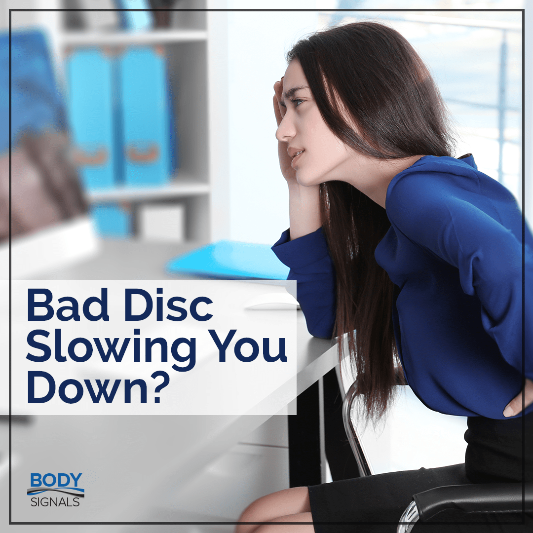 Bad Disc Slowing You Down?