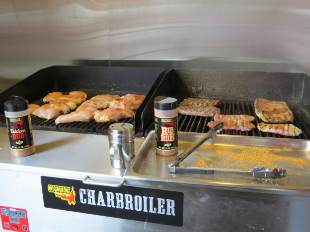 Charbroiler in Action