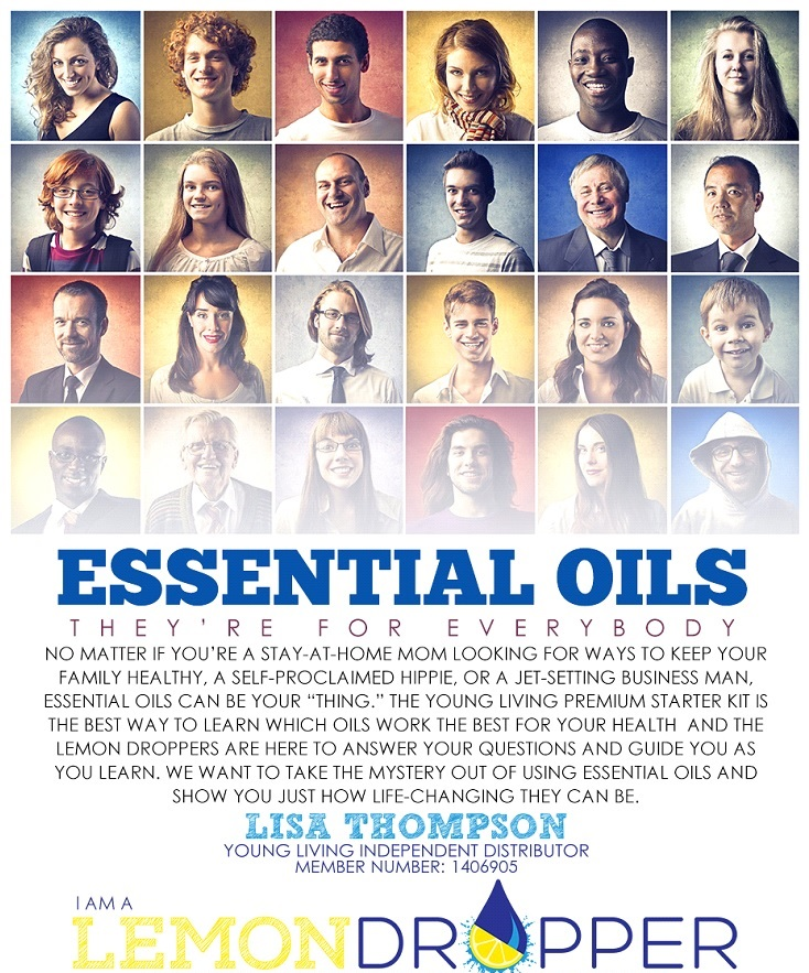 Young Living Essential Oils Are For Everyone - Lemon Dropper - www.TheLemonDropLounge.com