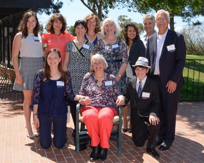 Two dedicated mothers honored at luncheon.