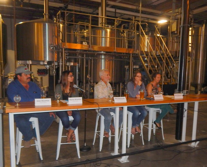 Panel discussion about locally grown food held in Ventura.