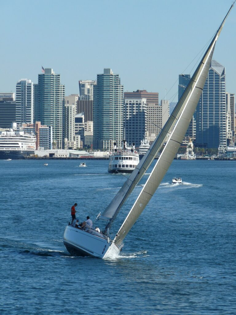 sailboat, san diego, california