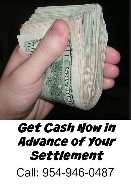 Pre-settlement lawsuit cash