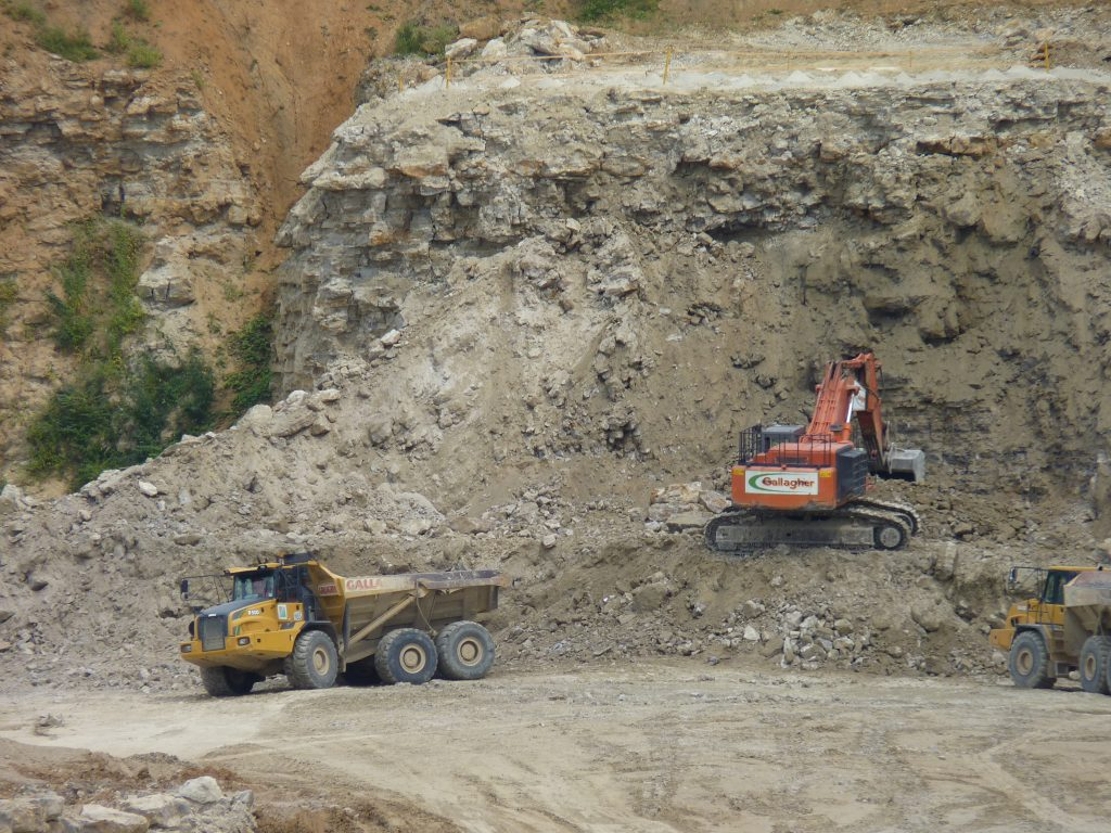 Above ground Sand Pits & Quarry's are also considered Mines.