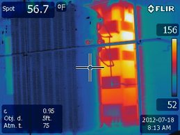 infrared thermography example