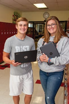 Andrew Burroughs and Taylor Alexander are students at Ingram Tom Moore High School.