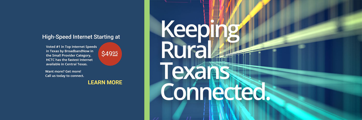 HCTC Keeping Rural Texans Connected