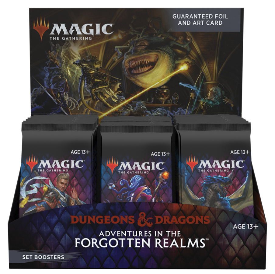 Magic Set Booster Box: Adventures in the Forgotten Realms