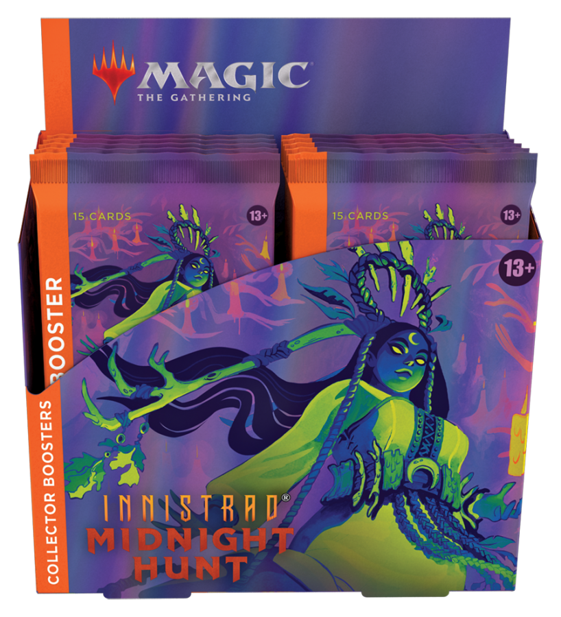 Magic Collector's Booster Box: Midnight Hunt