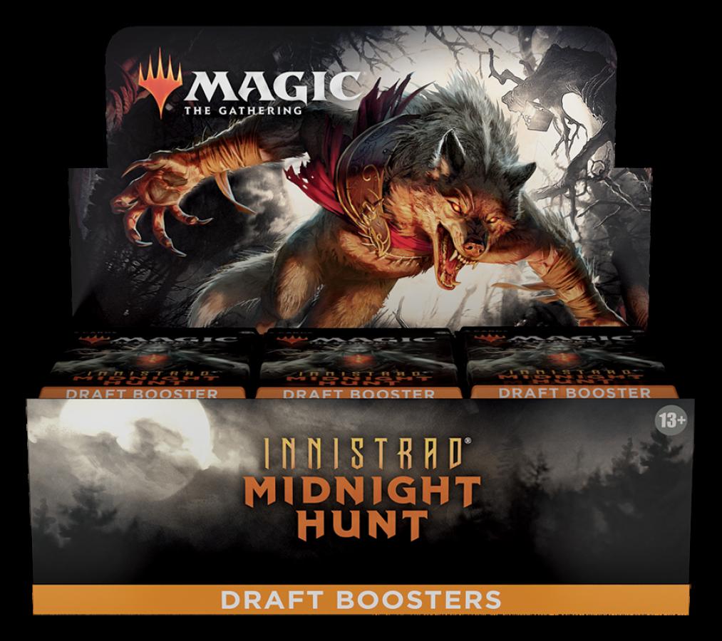Magic Draft Booster Box: Midnight Hunt