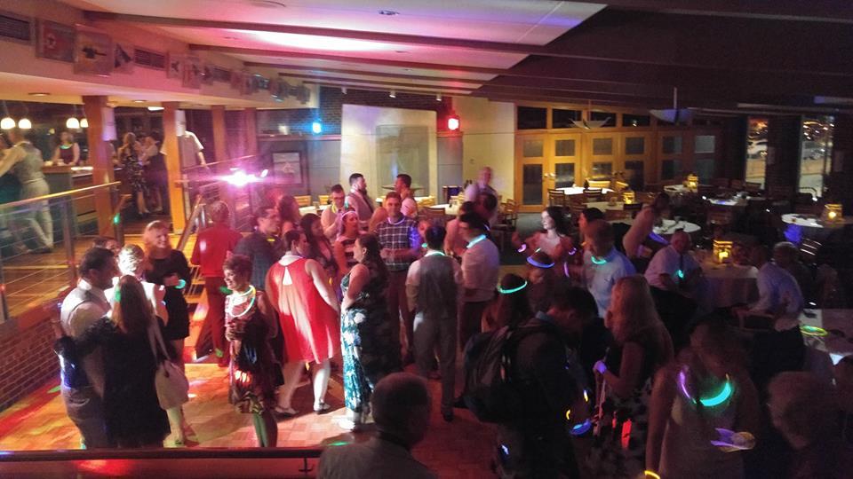Milwaukee Wedding DJ Servies Guests on the dance floor Milwaukee Underground Productions