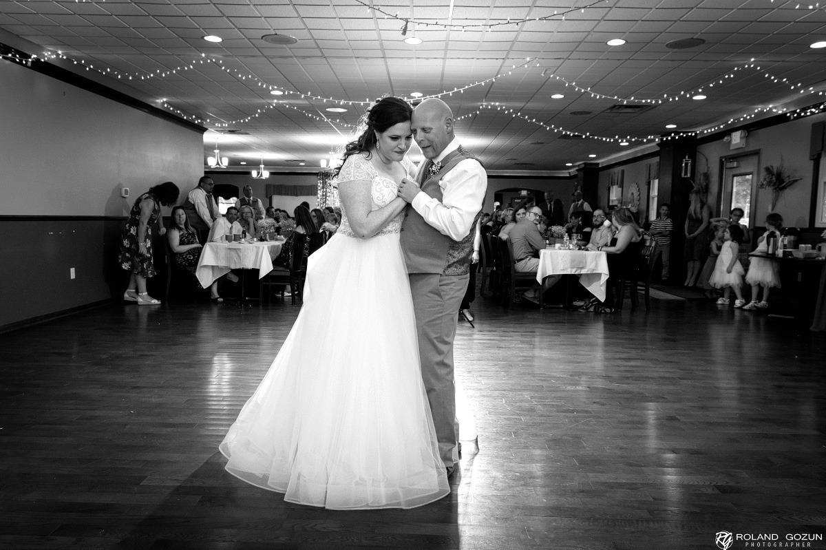 Matt and Jessicas Wedding Dance Milwaukee Wedding DJ Service