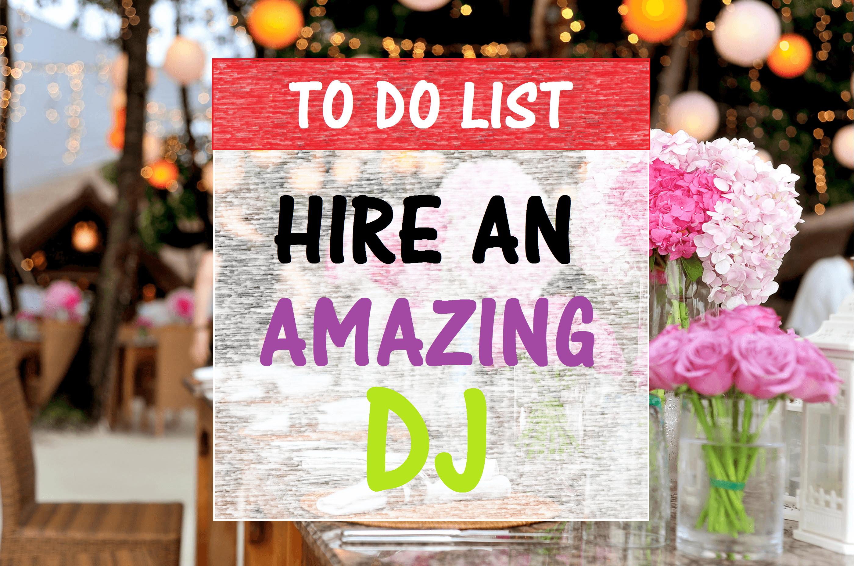 is Wedding DJ on your to-do list? Hire a wedding DJ through Milwaukee Underground Productions