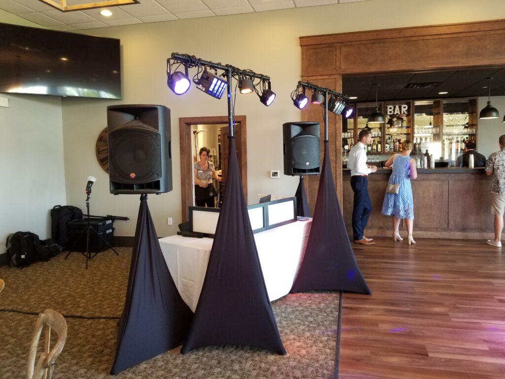 Wedding DJ Setup of Chris Troka with Milwaukee Underground Productions - Wedding DJ Service