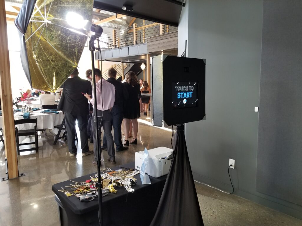 Photo Booth Service from MUP DJ's - Milwaukee Underground Productions