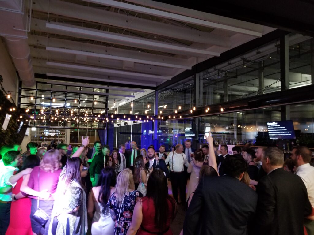 Milwaukee Brewing Company Wedding Event from Milwaukee Underground Productions Wedding DJ Service