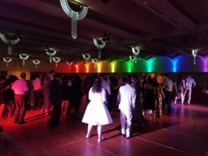 Wedding DJ Service in Madison, WI Guests on the dancefloor
