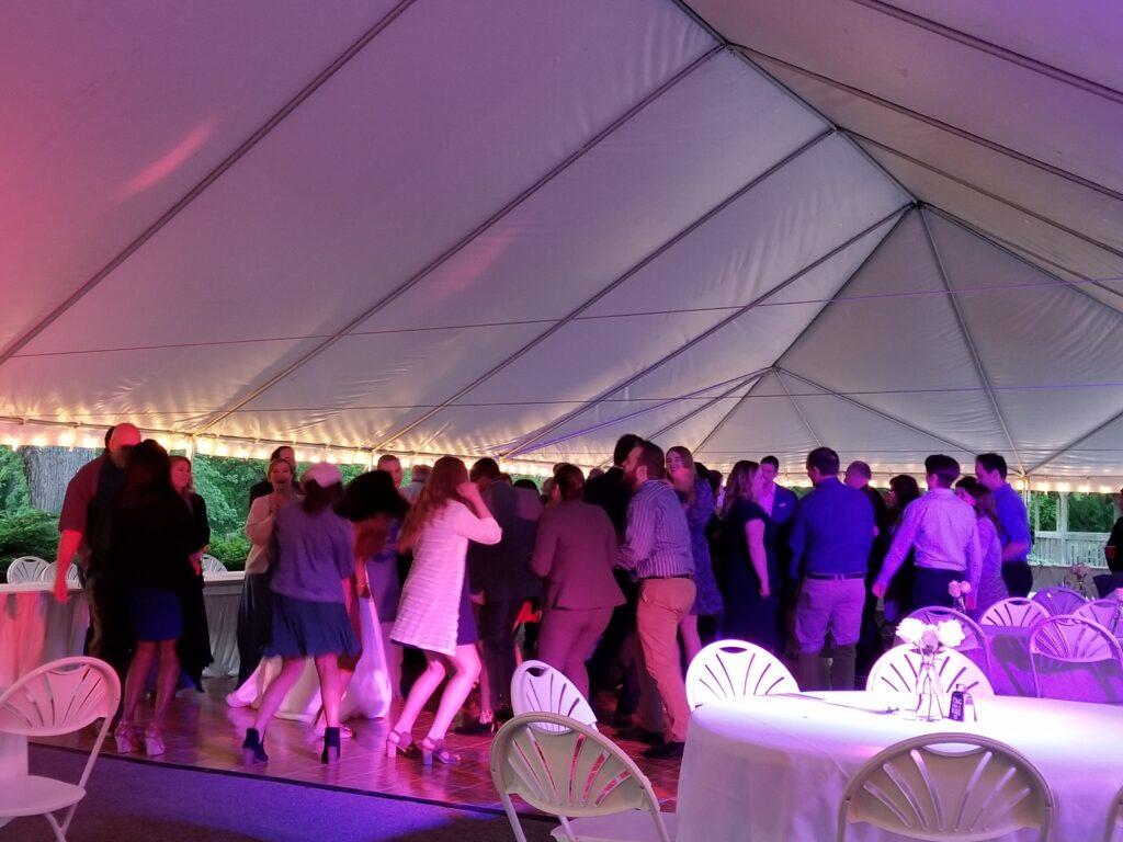 Outdoor Wedding at The Hub in Cedar Creek Cedarburg, WI Wedding DJ Service