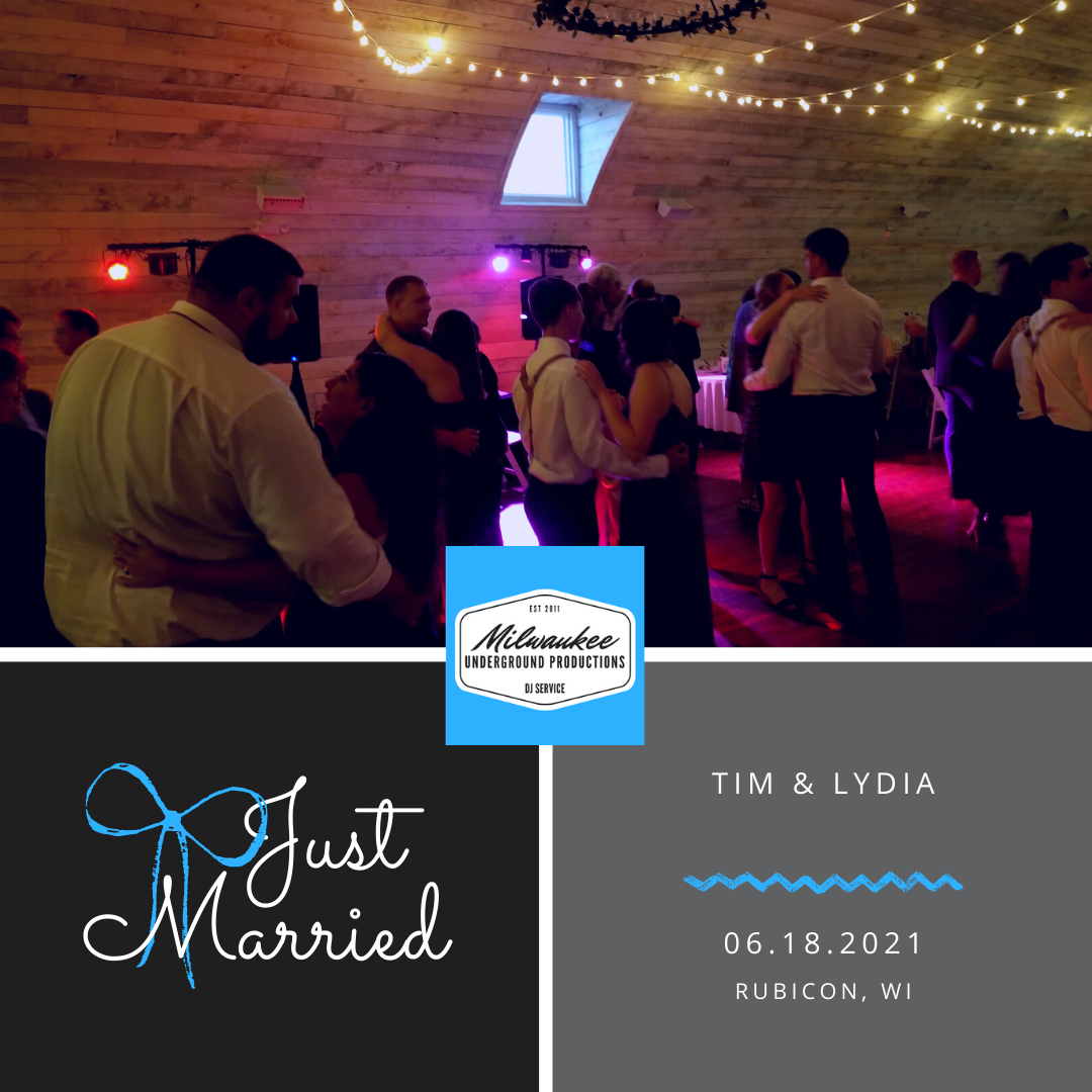 The Bowery Wedding DJ + Photo Booth from Milwaukee Underground Productions