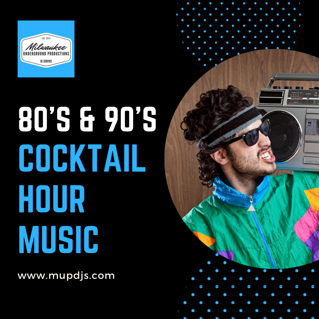 80's and 90's Cocktail Hour Wedding Music