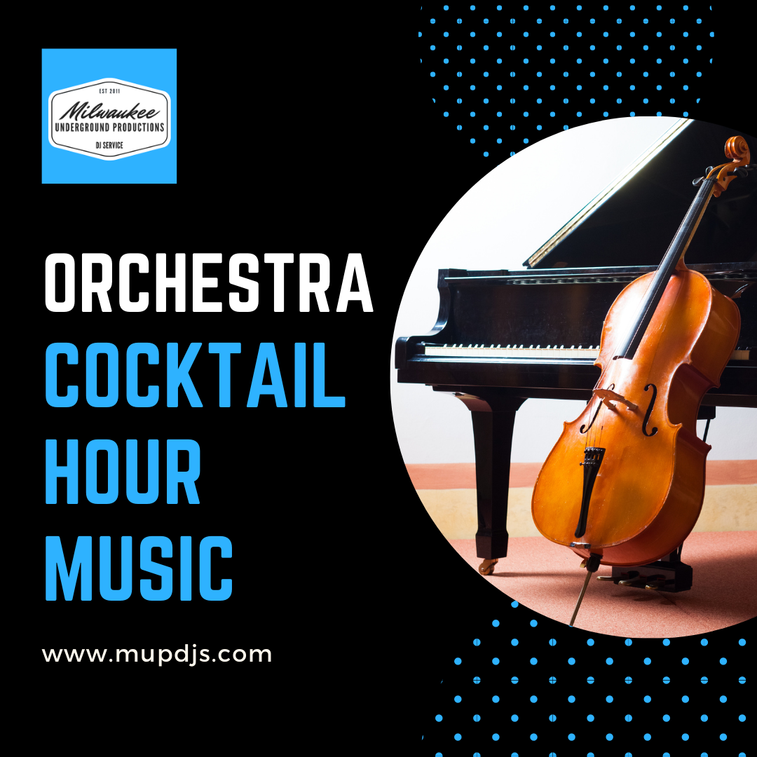 Orchestra Cocktail Hour Wedding Music
