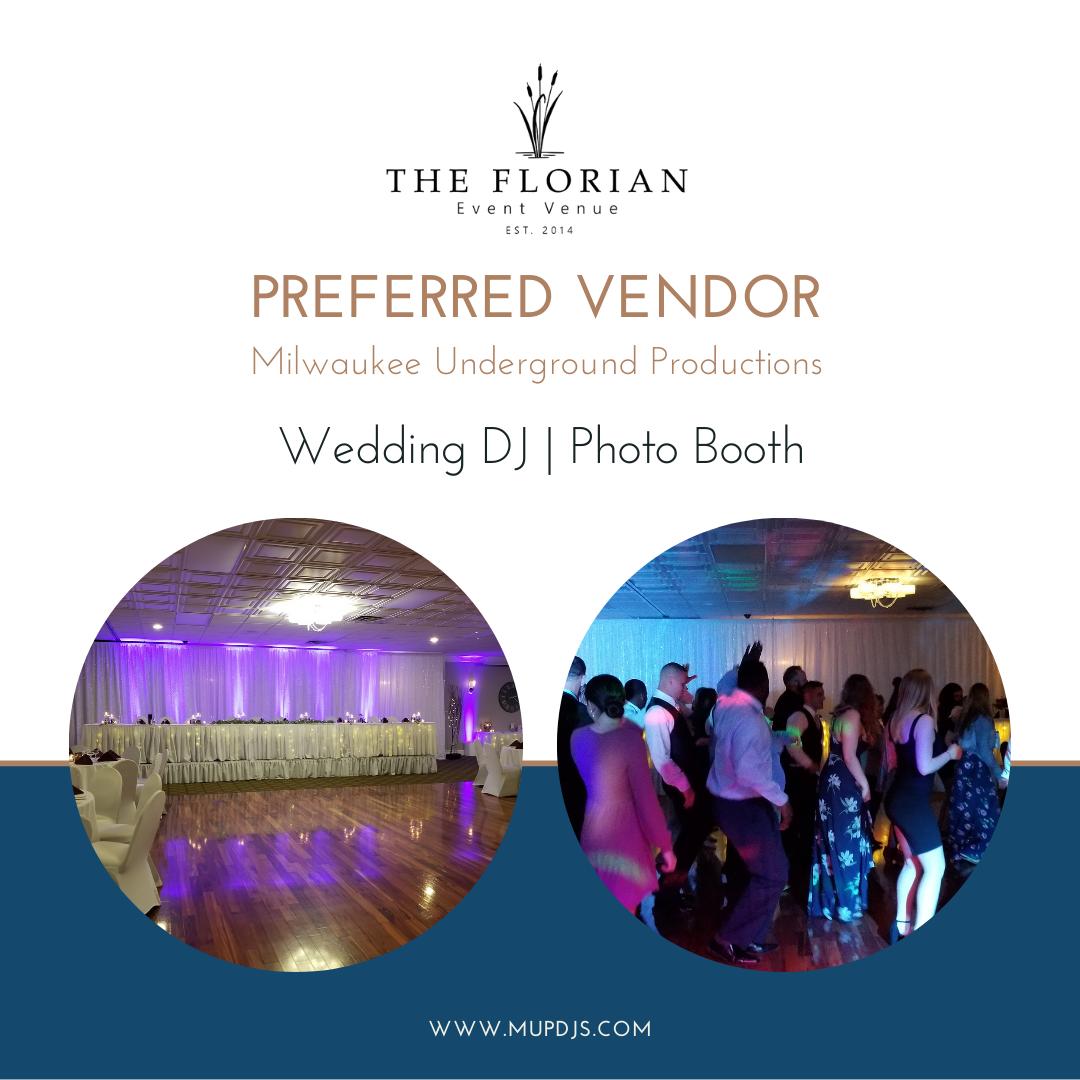 The Florian Preferred Wedding DJ Vendor Milwaukee Underground Productions