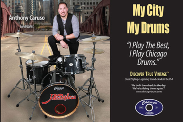 Anthony Caruso - My City, My Drums