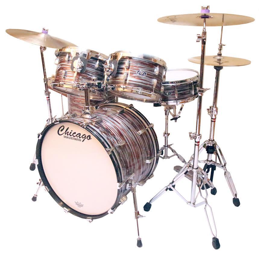 Copper Strata Drum Set