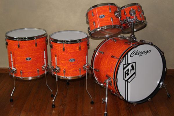 Mod Orange Drum Set