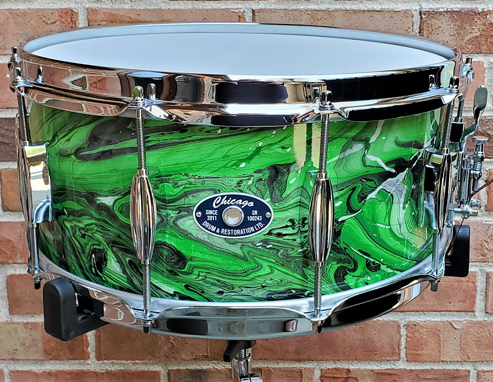 Pretty Things - Green Snare - Chicago Drum
