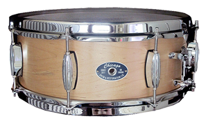 Steam Bent Maple Snare Drum - by Chicago Drum
