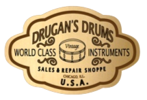 Drugan's Drums - world class instruments - logo