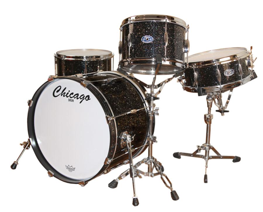 Mardi Gras Drum Set - Chicago Drum