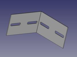 2x2 Angle Bracket - QuickFrames