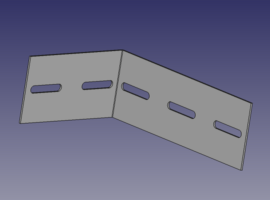 3x2 Angle Bracket - QuickFrames