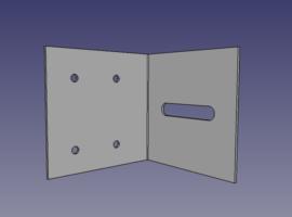 Small Sub-Purlin Hanger - QuickFrames